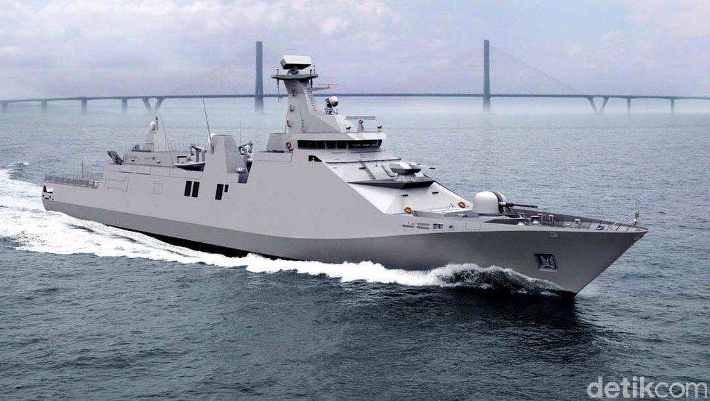 Segini Harga Kapal Perang yang Jadi Jawaban Prabowo Jaga Natuna