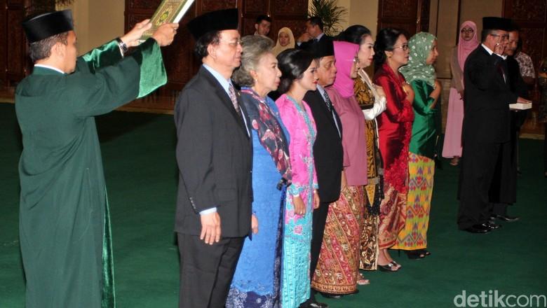 9 Anggota MPR Baru Dilantik