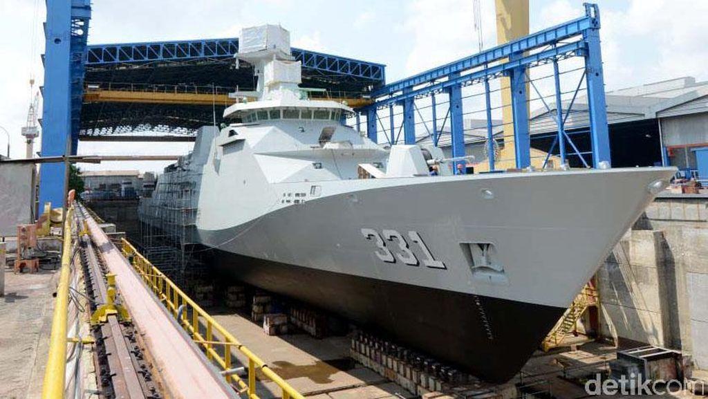 Kapal Perang Buatan RI Tembus Pasar ASEAN dan Afrika