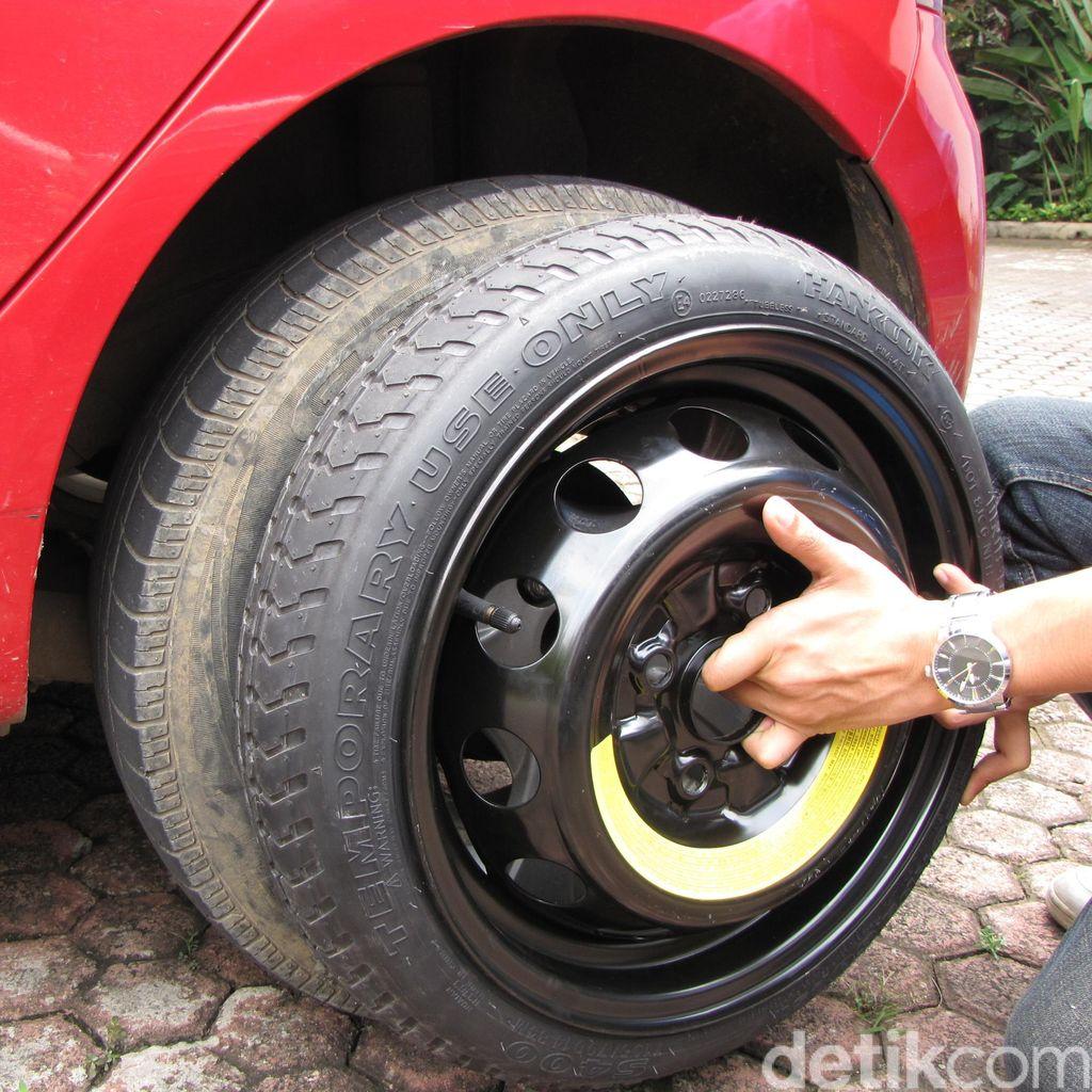 Ban Cadangan Mobil Lebih Kecil, Perhatikan ini Sebelum Dipakai