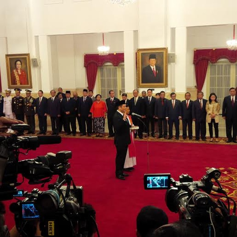 Nazir Foead Resmi Dilantik Jokowi Jadi Kepala Badan Restorasi Gambut