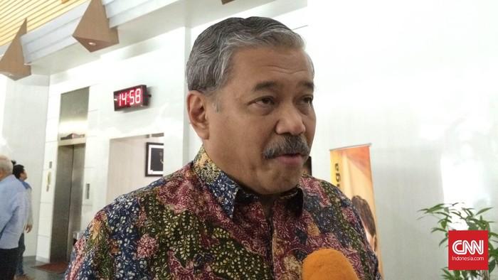 Ketua Umum Federasi Olahraga Rekreasi Masyarakat Indonesia (FORMI), Hayono Isman