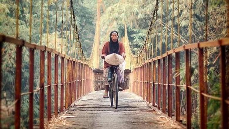 Foto: Jembatan Tua Pleret (@ajibdhaniarta/Instagram)