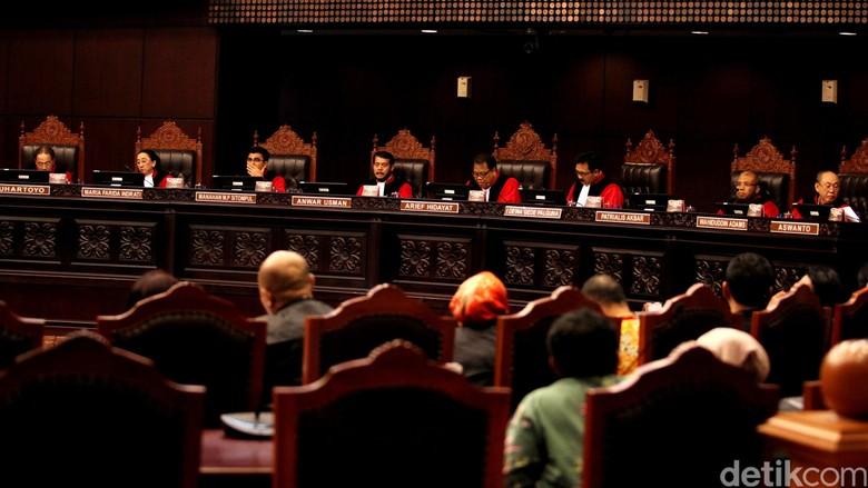 Tok! MK Tolak Gugatan Sengketa Pilgub Kalimantan Utara