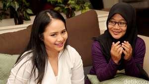Imutnya Aura, Adik Perempuan Gita Gutawa