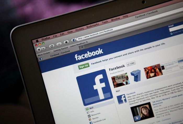 Website Facebook. Foto: GettyImages