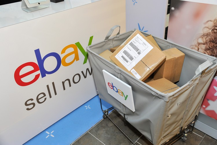 SAN FRANCISCO, CA - DECEMBER 26:  eBay helps sell gifts that were not quite right when eBay introduces Boxing Weekend on Dec. 26 and 27 at eight Westfield malls across the country, eBay selling stations and drop boxes are making it even easier for consumers to sell holiday items to get what they really want, through eBay Valet or by listing the items on eBay.com directly at Westfield San Francisco Centre on December 26, 2015 in San Francisco, California.  (Photo by Steve Jennings/Getty Images for eBay)