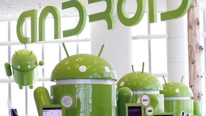 Sistem operasi Android baru saja berulang tahun ke-10. Foto: Reuters/Beck Diefenbach