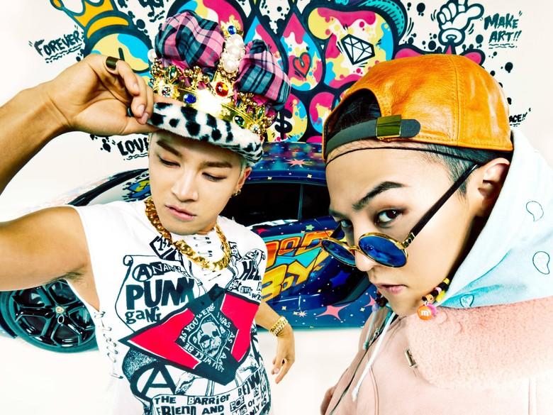 G-Dragon dan Taeyang Bigbang Gabung Bisnis Kosmetik YG Entertainment