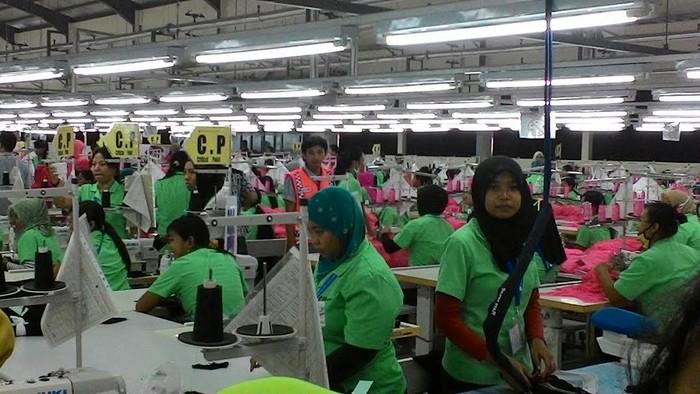 Pabrik tekstil baru di Wonogiri