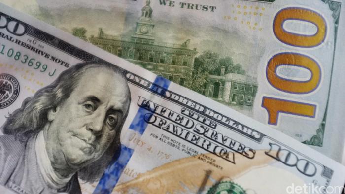 Mata Uang Dollar Amerika. dikhy sasra/ilustrasi/detikfoto