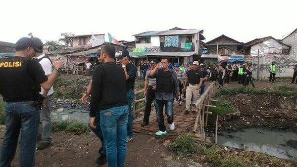 Penggerebekan di Kampung Ambon Tidak Terkait Kasus Berlan