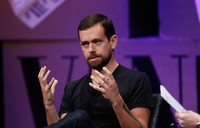 SAN FRANCISCO, CA - OCTOBER 09:  Twitter Co-Founder and Chairman and Square CEO Jack Dorsey speaks onstage during