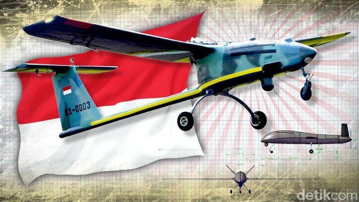 Drone Canggih Buatan RI