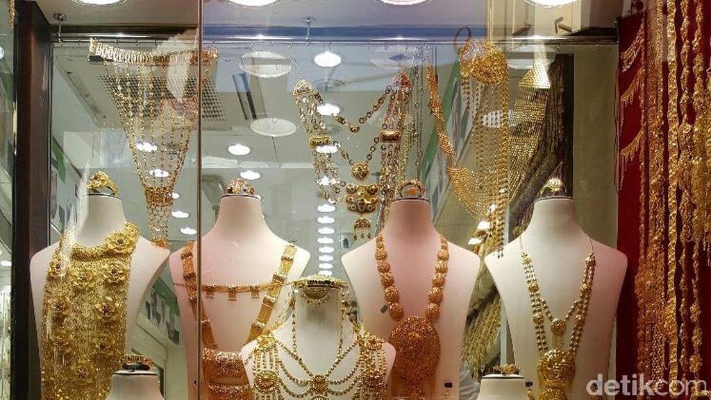 Mewah! Melancong ke Pasar Emas di Dubai