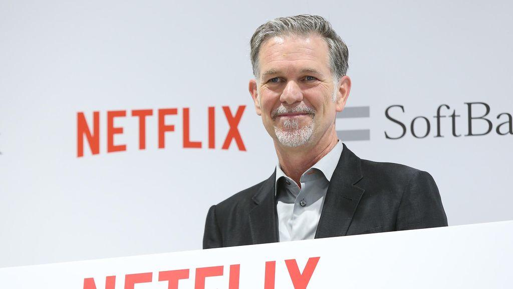 Berawal Dari Bisnis Sewa DVD, Bos Netflix Kantongi Kekayaan Rp 21 T