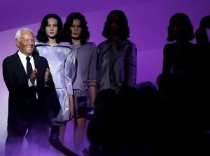 Giorgio Armani Umumkan Tak Akan Lagi Pakai Bulu Hewan Dalam Rancangannya