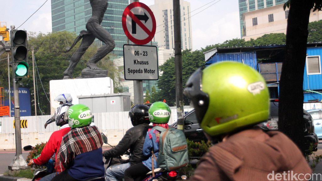 Pemotor Siap-siap! September Nggak Boleh Lewat Jl Sudirman