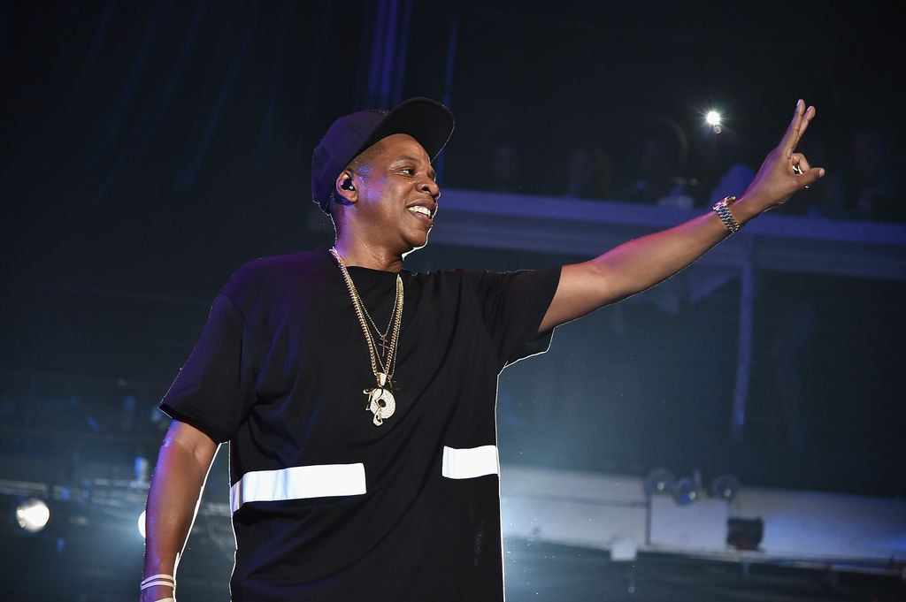 NEW YORK, NY - MAY 17:  Jay-Z performs during TIDAL X: Jay-Z B-sides in NYC on May 17, 2015 in New York City.  (Photo by Theo Wargo/Getty Images for Live Nation)