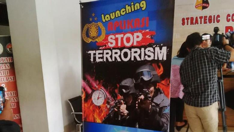 Mabes Polri Luncurkan Aplikasi dan Game Tumpas Terorisme