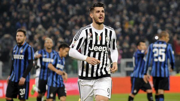 Alvaro Morata punya karier yang bagus ketika memperkuat Juventus.