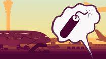 Bercanda Bom di Bandara Komodo, WN Portugal Dibawa ke Kantor Polisi