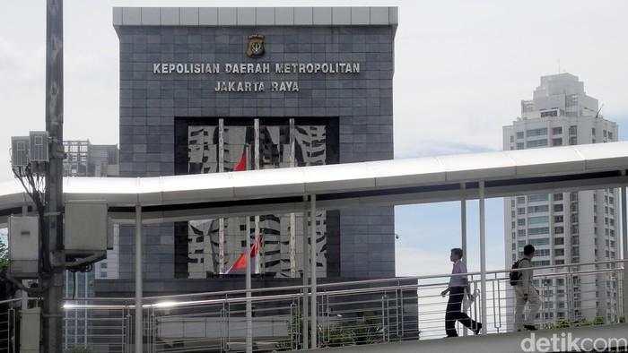 Mapolda Metro Jaya (Ari Saputra/detikcom)