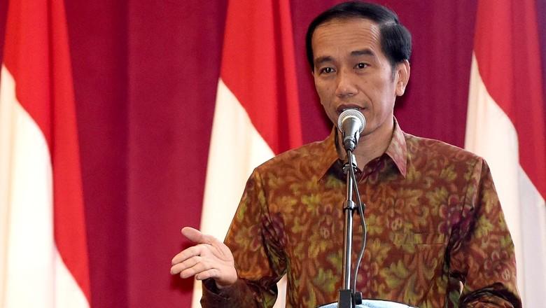 Jokowi Gelar Pertemuan dengan Pengurus LDII di Istana Merdeka