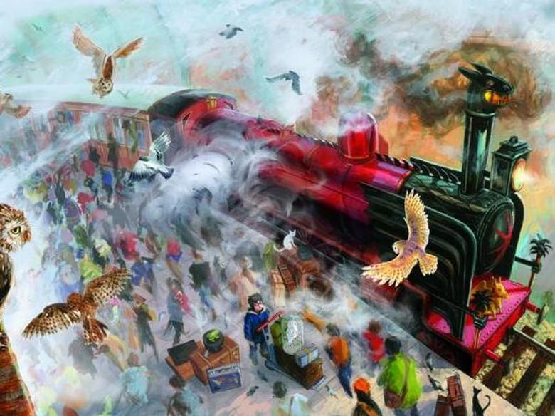 Potterhead! Sampul Spesial Harry Potter ke-4 Versi Jim Kay Terbit Oktober