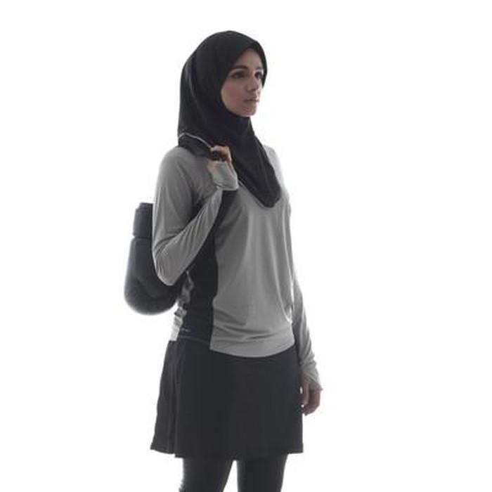 Foto Intip Baju Olahraga Khusus Hijabers Rancangan Sigi Wimala