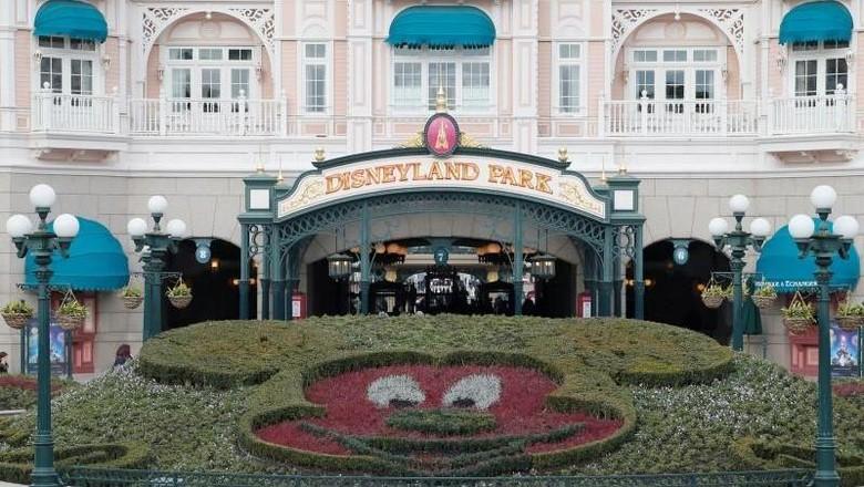 Foto: Ilustrasi Disneyland Paris (REUTERS/Gonzalo Fuentes)