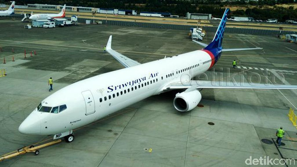 Bermodal Satu Pesawat Boeing, Begini Sejarah Sriwijaya Air
