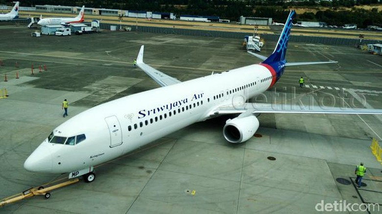 Ilustrasi pesawat Sriwijaya Air(detikFoto)