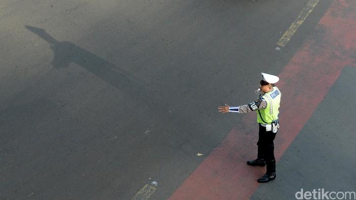 Ilustrasi Polisi Lalu-lintas (Polantas)