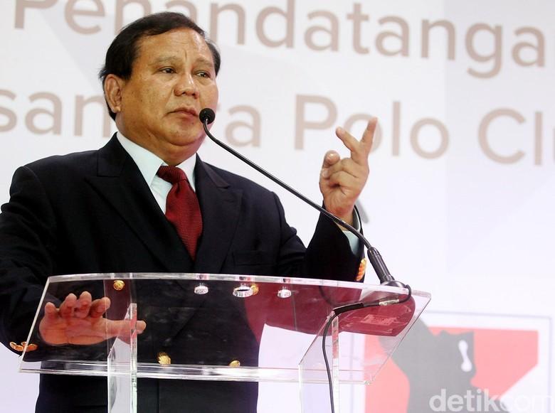 Tutup Pidato, Prabowo: Lebih Baik Hancur daripada Dijajah Kembali!