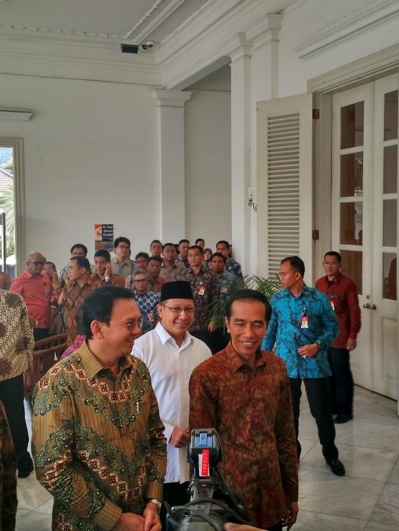Presiden Jokowi Resmikan Masjid Fatahillah Balai Kota Jakarta
