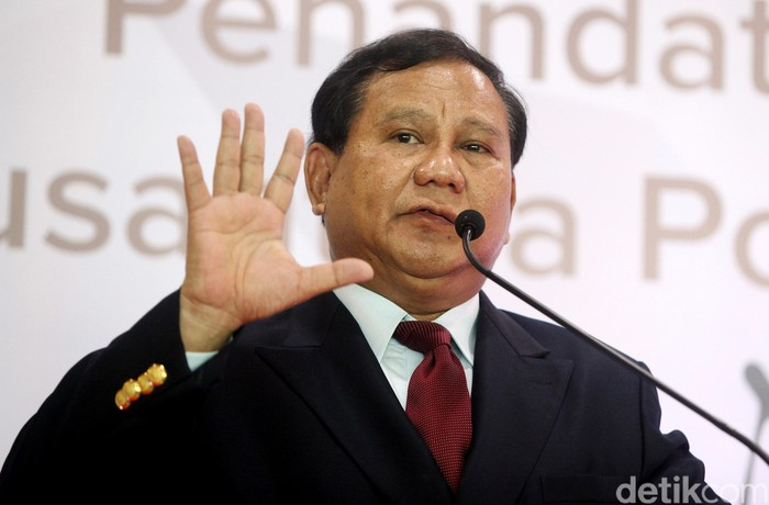 Prabowo Subianto (Foto: Rengga Sancaya/detikcom)