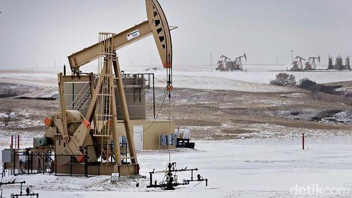 Ilustrasi tambang minyak/Foto: CNBC