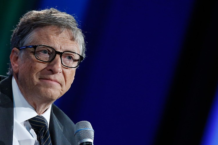 NEW YORK, NY - SEPTEMBER 27:  Bill Gates attends the Plenary Session: Investing in Prevention and Resilient Health Systems during the second day of the 2015 Clinton Global Initiatives Annual Meeting at the Sheraton New York Hotel & Towers on September 27, 2015 in New York City.  (Photo by JP Yim/Getty Images)