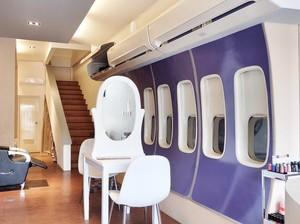 Beauty Lounge Kemang, Sensasi Nyalon di Pesawat