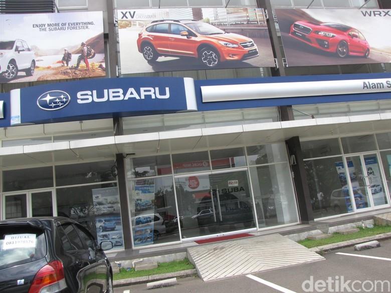 Kantor Subaru disegel aparat beberapa tahun lalu. Foto: M Luthfi Andika