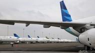 70% Dikandangkan Imbas Corona, Bagaimana Kondisi Pesawat Garuda?