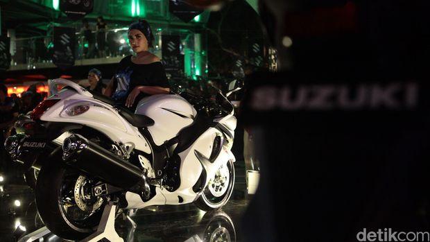 Suzuki saat meluncurkan pertama kali Hayabusa sekitar 3-4 tahun lalu