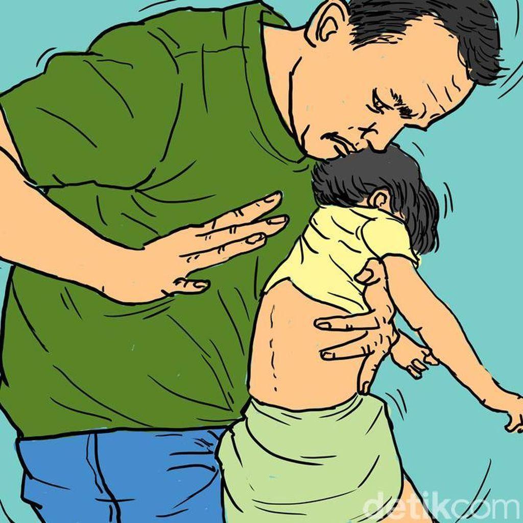 Bocah 3 Tahun di Depok Dianiaya Ayah, Wajahnya Ditendang