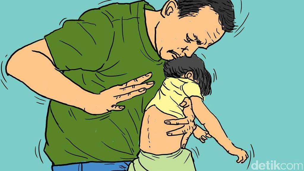 Disiram Ayah dengan Cuka Getah, Muka 3 Anak di Jambi Rusak