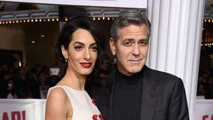 George Clooney dan Cate Blanchett di Sesi Foto The Monuments Men