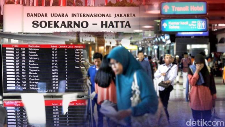 Ilustrasi Bandara Soekarno Hatta (Ilustrasi oleh Andhika Akbarayansyah)