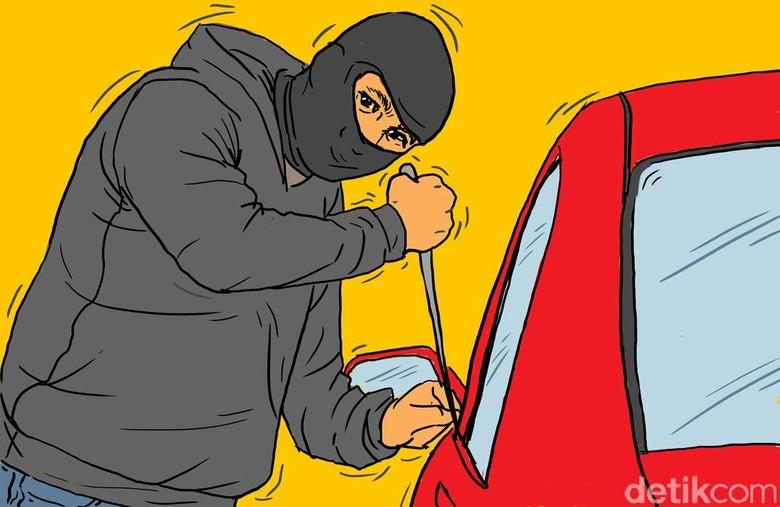 GPS Bisa menekan pencurian mobil Foto: Ilustrasi oleh Edi Wahyono