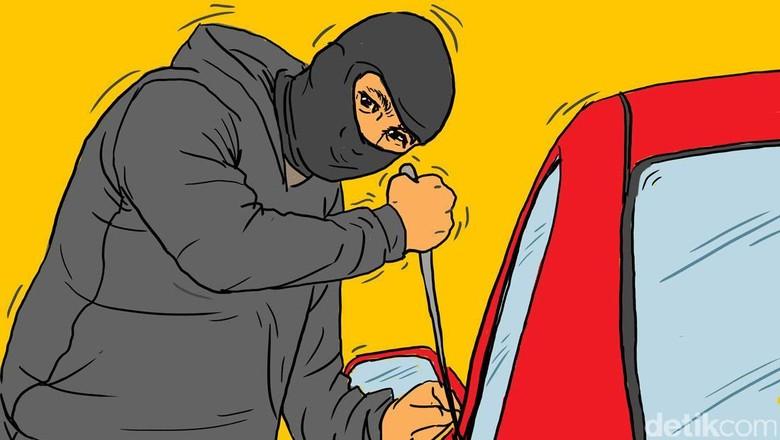 Ban Mobil Kepsek Digembos, Rampok Sikat Dana BOS