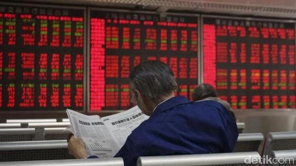 Rekor Kasus Corona Global Bikin Bursa Asia Terbakar